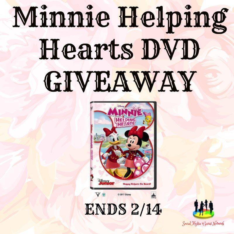 Minnie Helping Hearts DVD