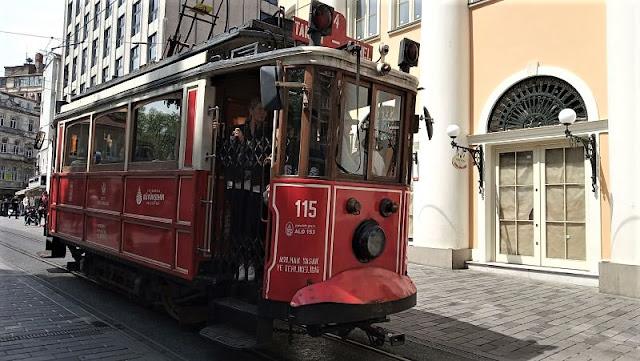 nostalgic tramvay istanbul