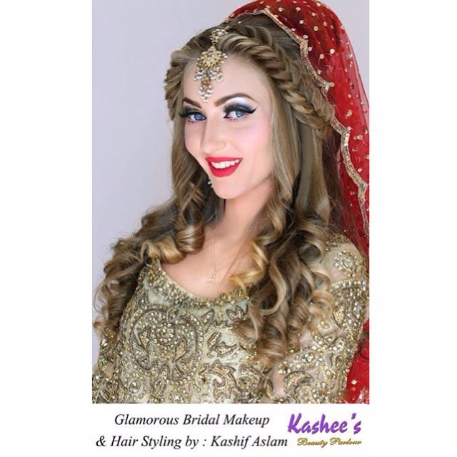 Kashee's beauty parlor's bridal makeup