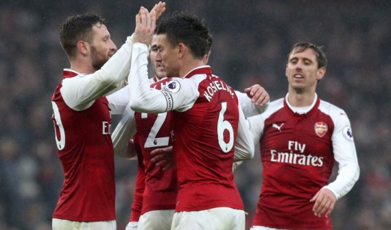Arsenal clinched an impressive 2-0 win over Tottenham in what was arguably their best performance of the season