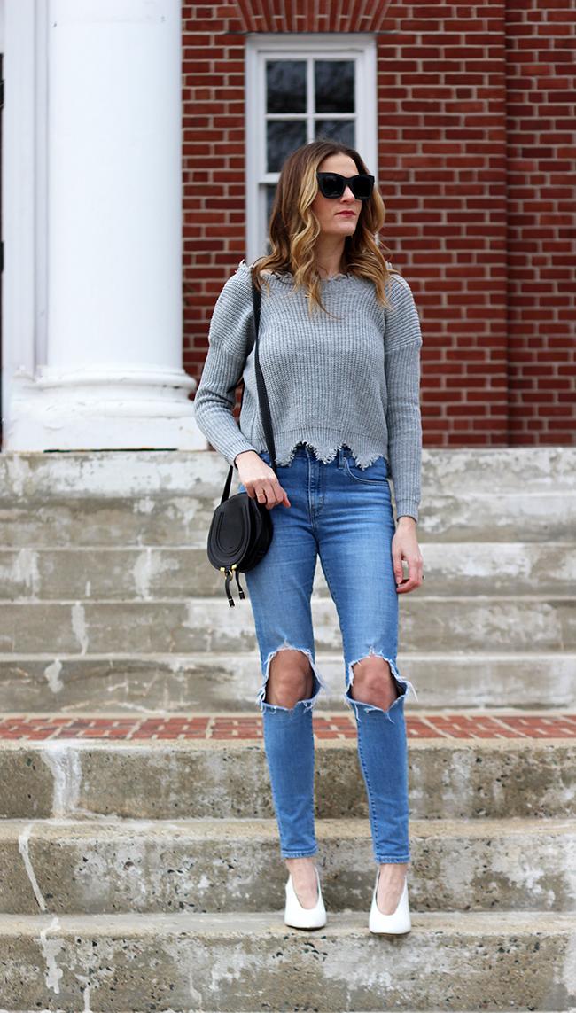 Low Back Sweater #springfashion