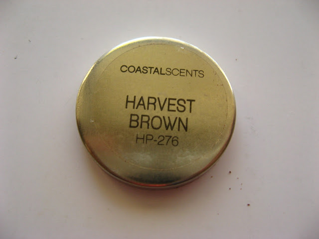 Coastal Scents Hot Pot in Harvest Brown: Review, Swatches and EOTD