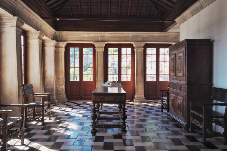 Visite du palais de Sintra près de Lisbonne