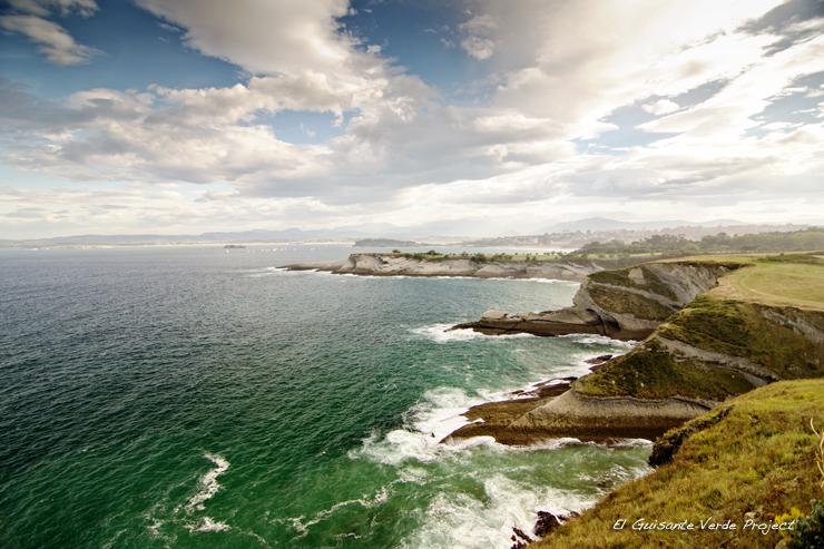 Vista Ruta Cabo Mayor - Santander por El Guisante Verde Project