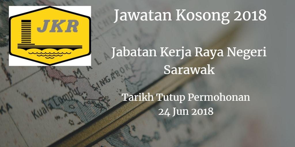 Jawatan Kosong Jabatan Kerja Raya Negeri Sarawak 24 Jun 2018