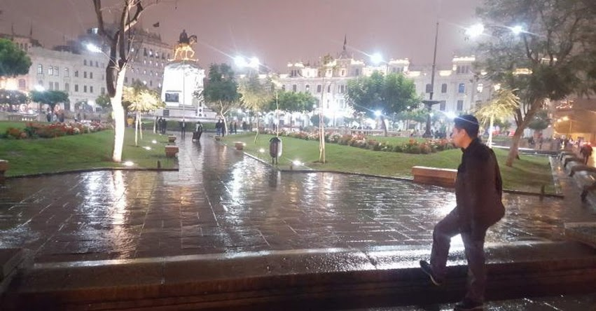 LLUVIA EN LIMA: Reportan intensas lluvias en distintos distritos de la capital [VIDEO]