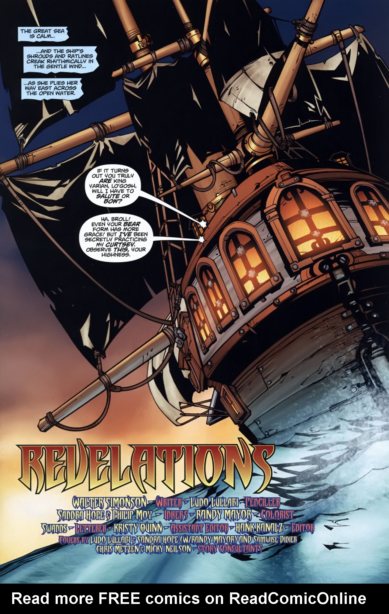 Read online World of Warcraft comic -  Issue #7 - 2