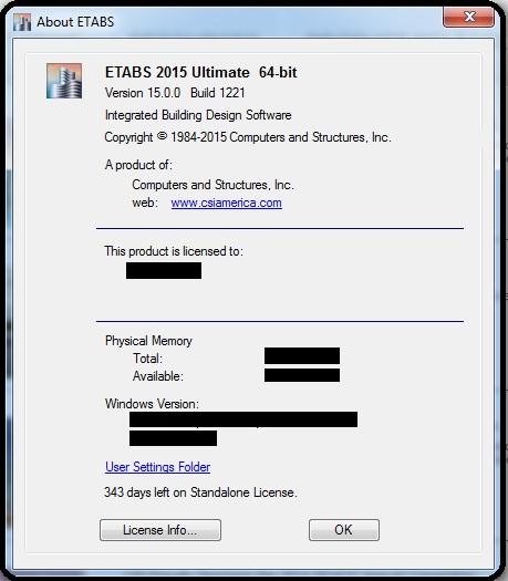 Etabs 2013 full version crack