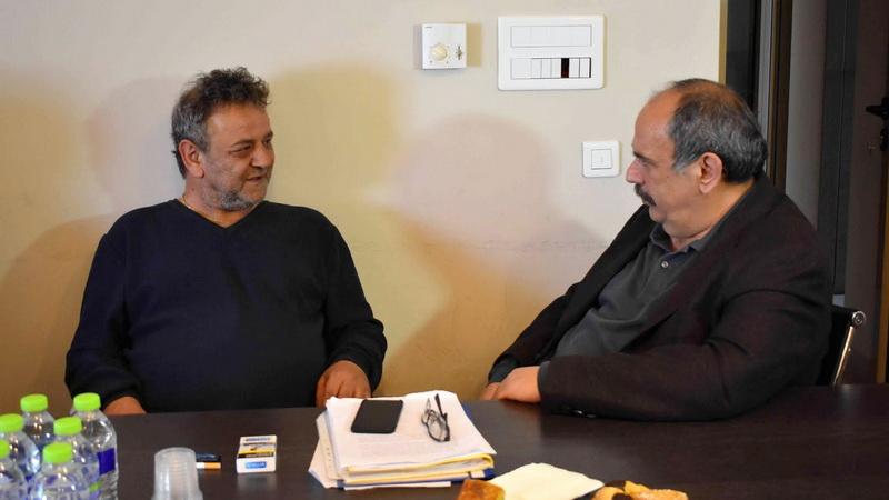 Συνάντηση του υποψήφιου Δημάρχου Αλεξανδρούπολης Σάββα Δευτεραίου με την Συντεχνία Αρτοποιών Ν. Έβρου