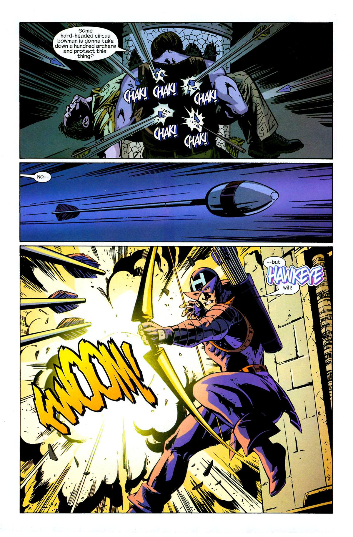 Hawkeye (2003) Issue #6 #6 - English 7