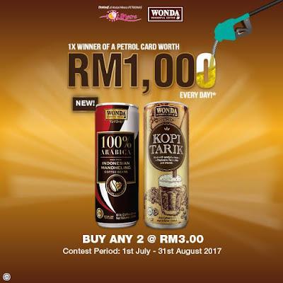 Petronas Kedai Mesra Wonda Coffee Discount Offer Promo
