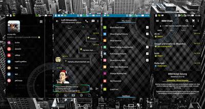 BBM Mod Thema Black Linier V2.11.0.18 Apk