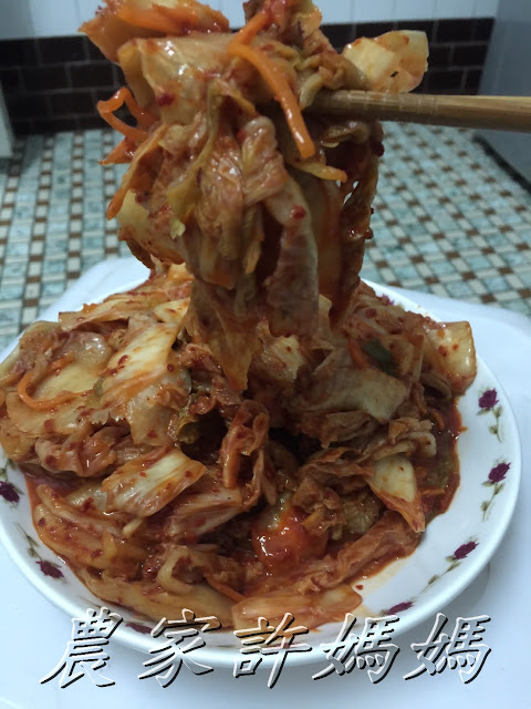 農家許媽媽韓式泡菜尬韓式泡菜蘿蔔~~