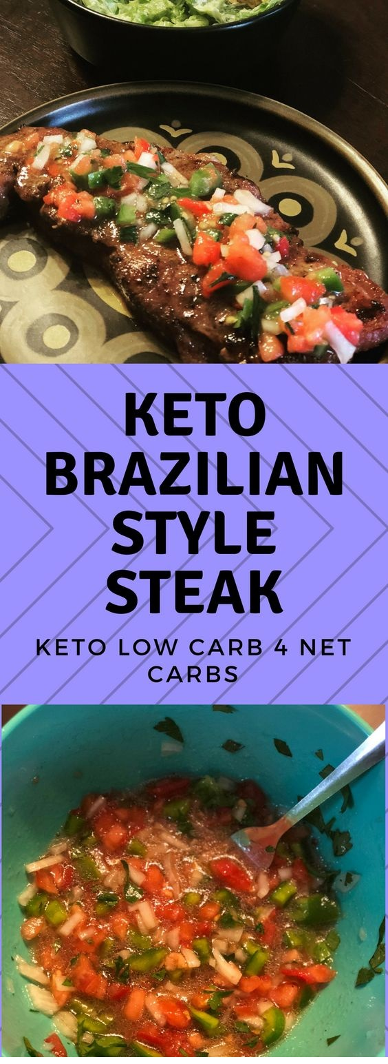 Keto Brazilian Strip Steak (4 net carbs)