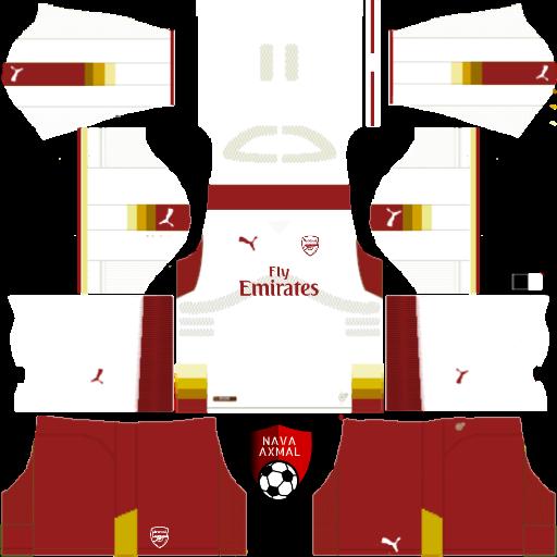 best sneakers 4dfd5 b7dfe Arsenal fantasy kits 2017/2018