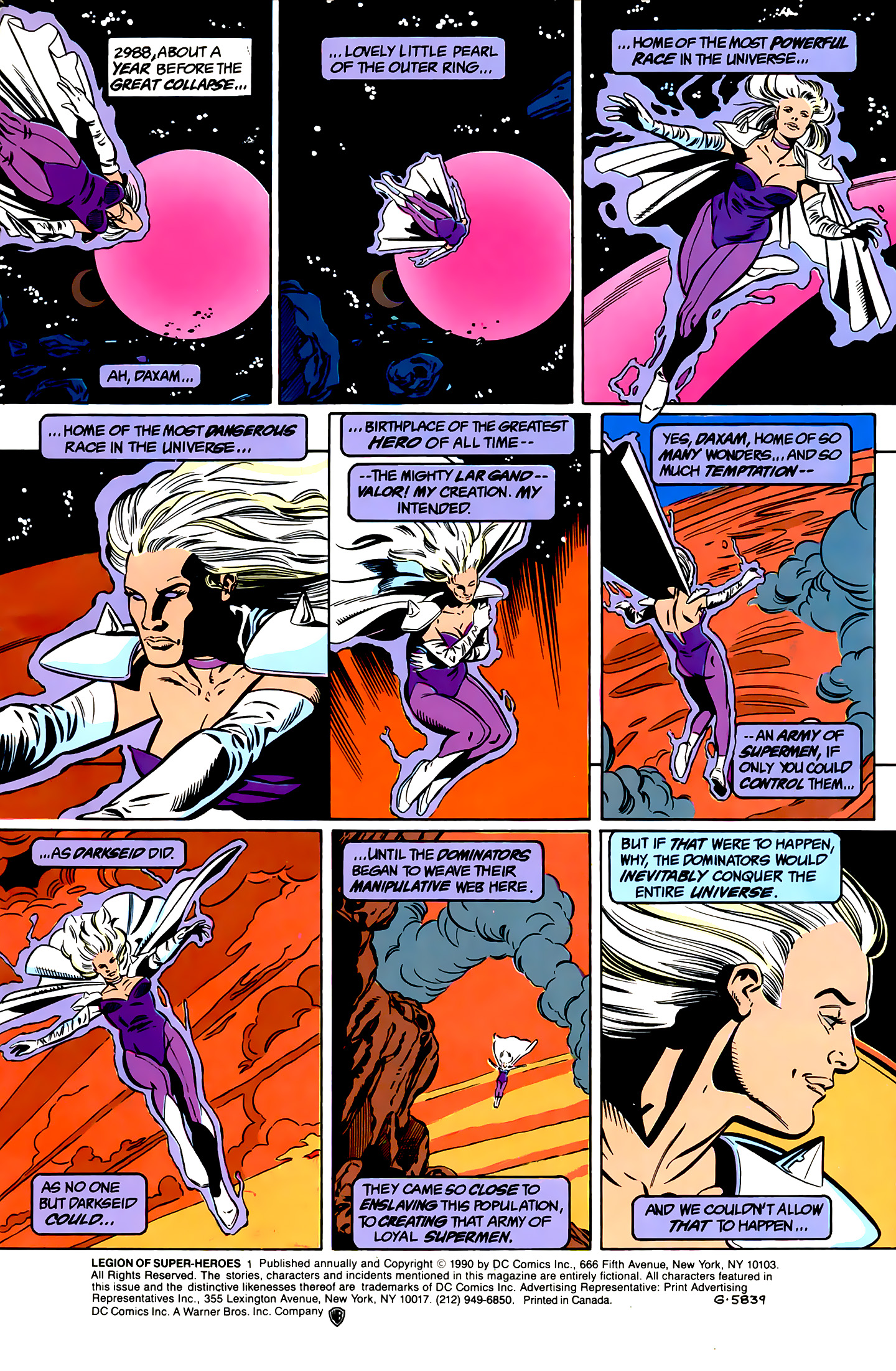 Legion of Super-Heroes (1989) _Annual_1 Page 1
