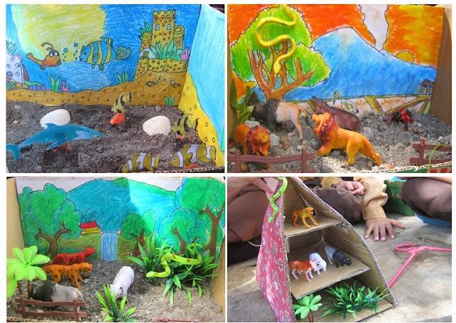 Kumpulan Gambar Gambar Diorama Ekosistem Alami Buatan Campuran 5a Min 1 Kolut