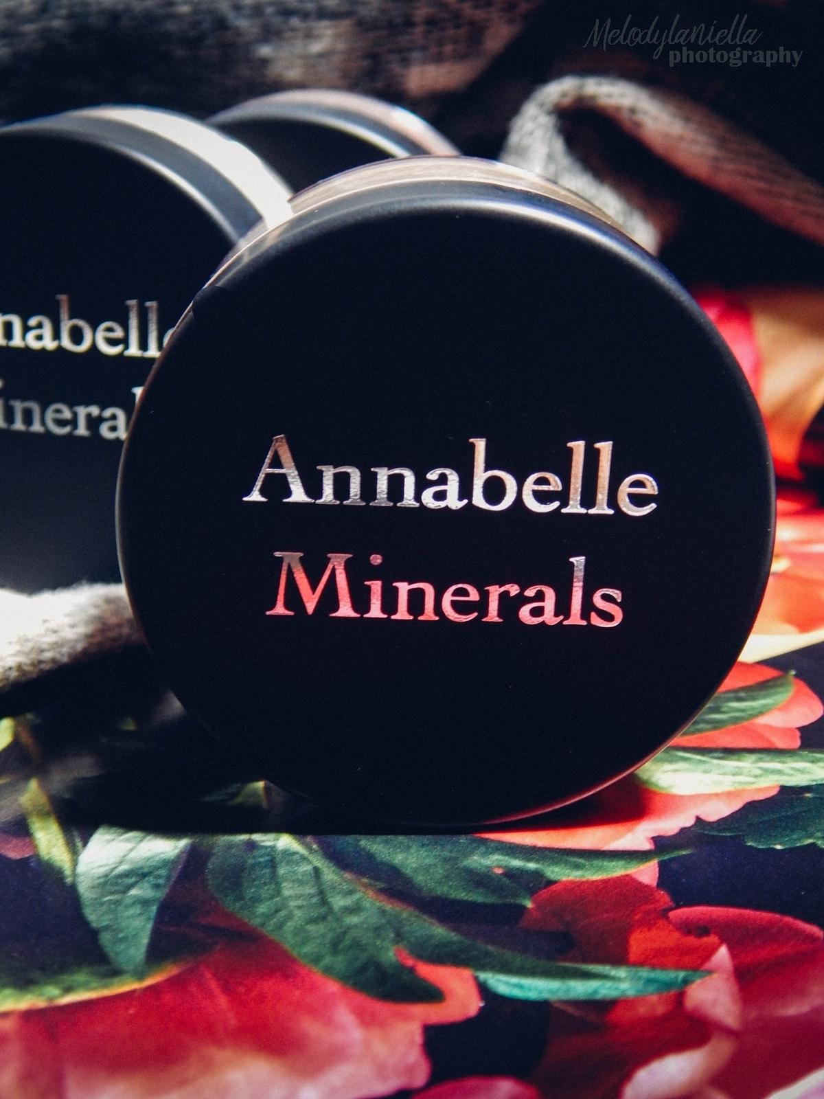 annabelle minerals kosmetyki mineralne zestaw matujący korektor podkład róż gratis pędzel jak używać kosmetyków mineralnych recenzja melodylaniella roz