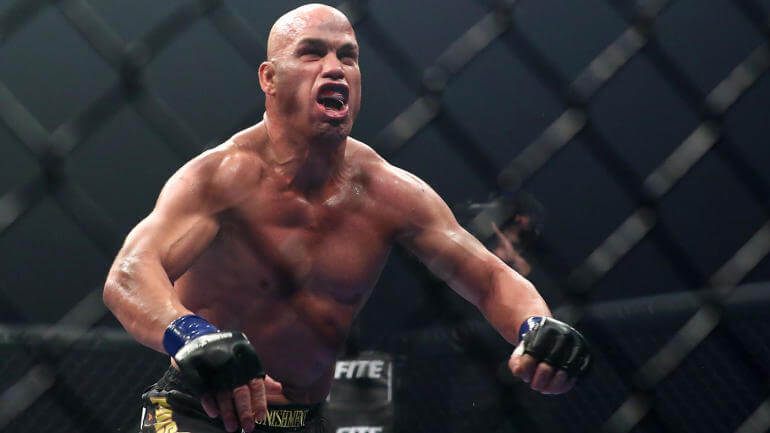 Tito Ortiz buries Chuck Liddell with the first-round knockout win in a trilogy fight