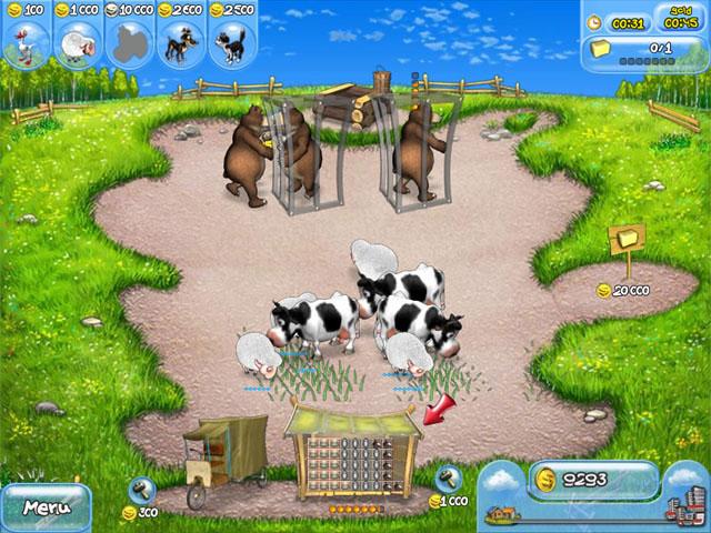 تحميل لعبة فارم فرنزي 3 كاملة برابط واحد Farm Frenzy Ice Age على الكمبيوتر