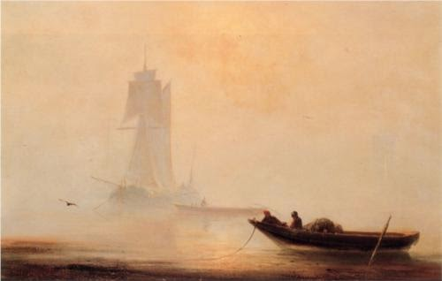Ivan Aivazovsky Fishing Boats