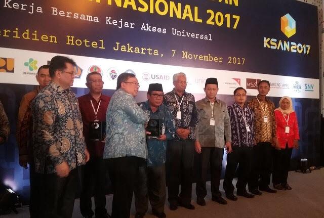 Sukses 'Sikat' BABS, Loteng Sabet AMPL Awards dari Bappenas