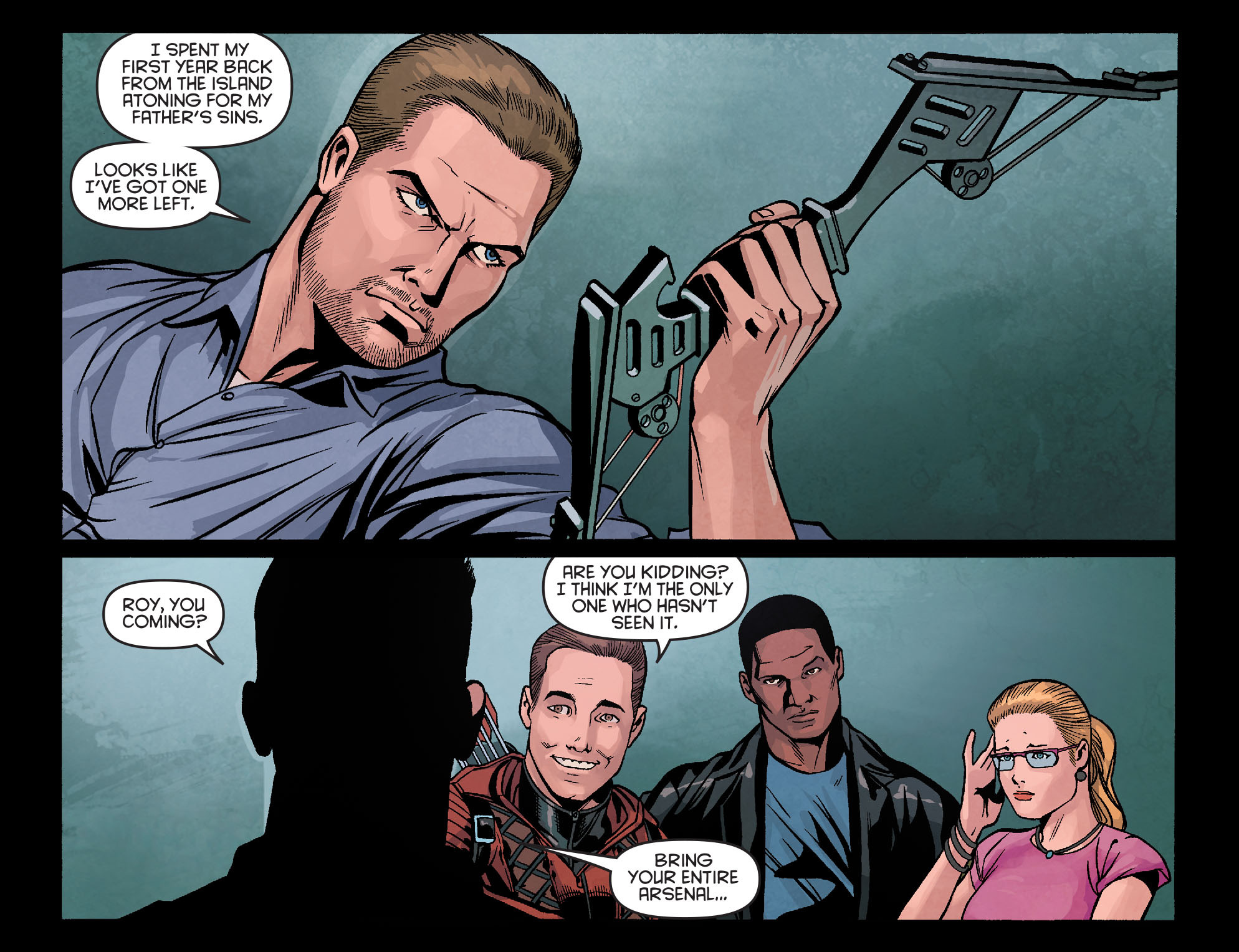 Read online Arrow: Season 2.5 [I] comic -  Issue #18 - 21
