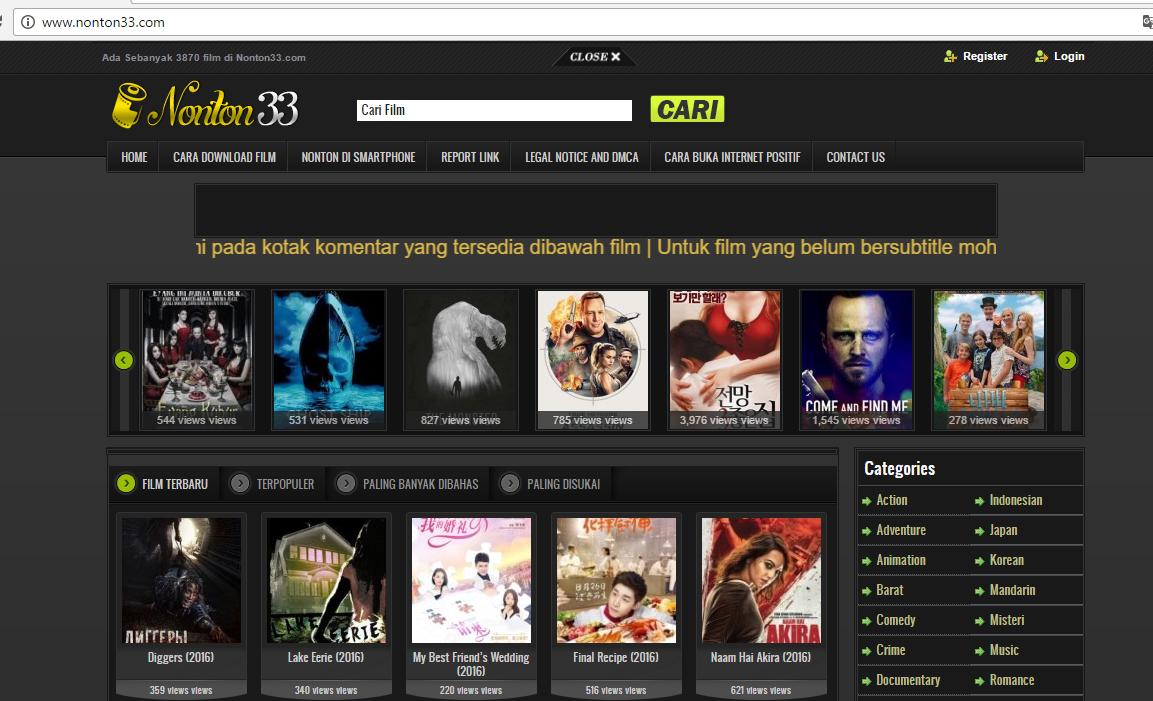 4 Situs Web Terbaik Untuk Download Film Peatix