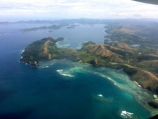 Aerial View of Coron, Palawan