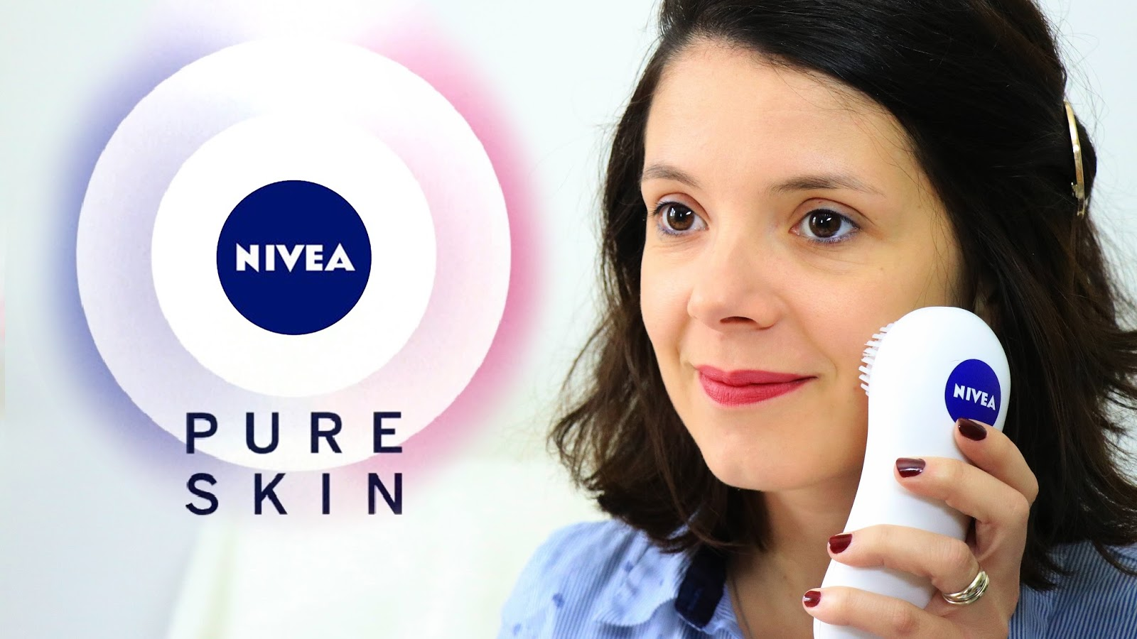 nivea pure skin brosse nettoyante visage électrique grande surface les gommettes de melo gommette micro oscillations nouveaute nouveau beaute soin