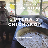 Visit San Miguel: Goyena's Chicharon Food Demo Read more at https://www.foodamn.com/#C6u1eZGimzhFflcs.99
