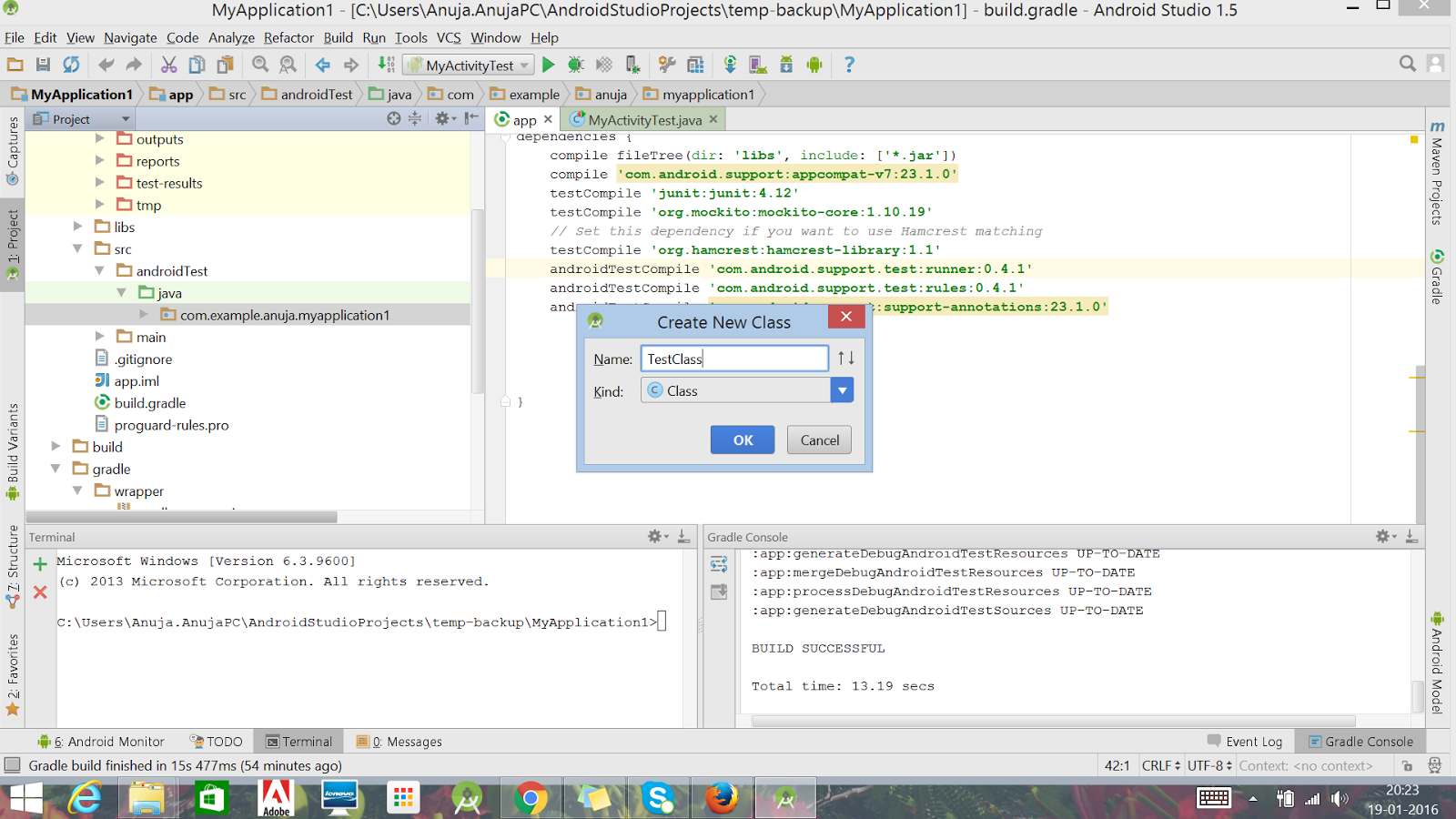 How and Where to add Test cases in Android Studio? ~ QA Automated