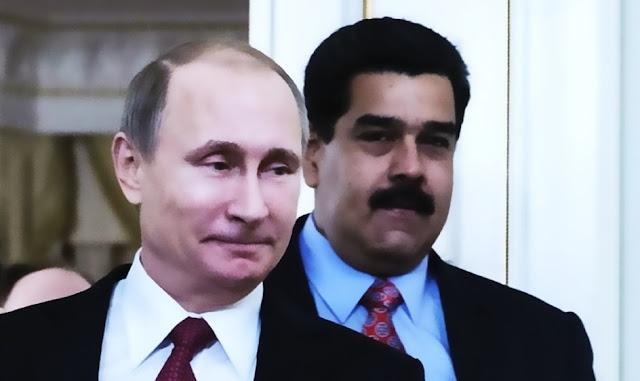 Vladimir Putin y Nicolás Maduro
