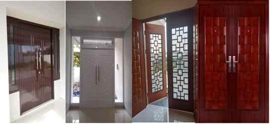 Rumah Desain Minimalis 2 pintu