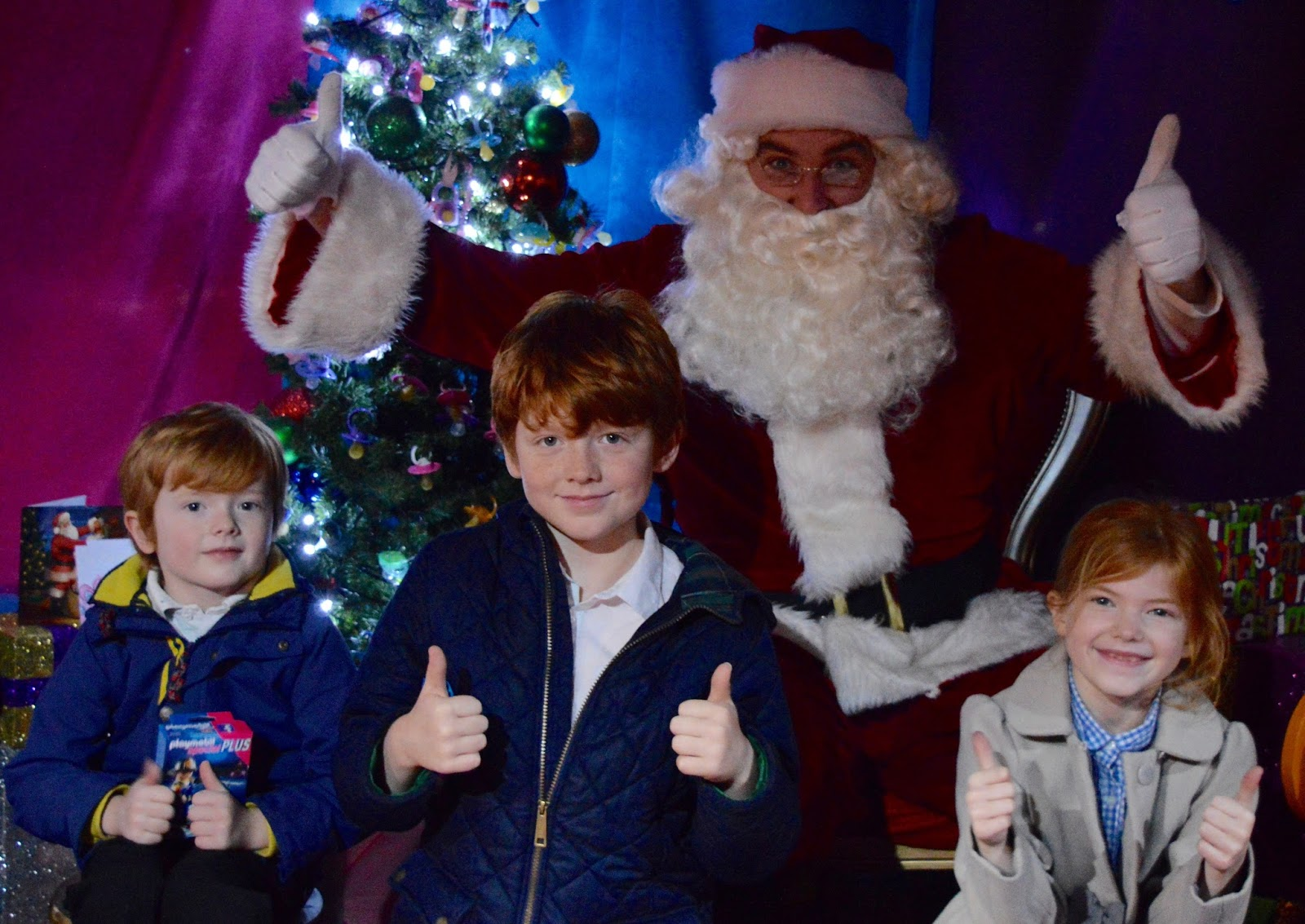 A Guide to The Best Family Days Out in the North East including free Santa's Grotto at intu Metrocentre