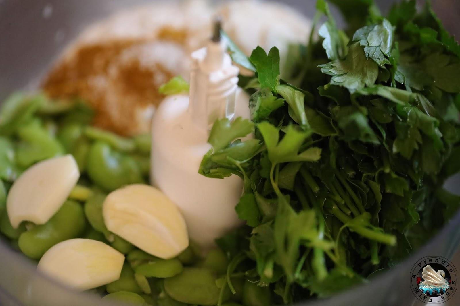 Falafels aux fèves