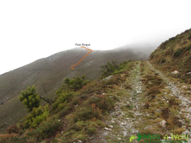 Camino al Prao Roque