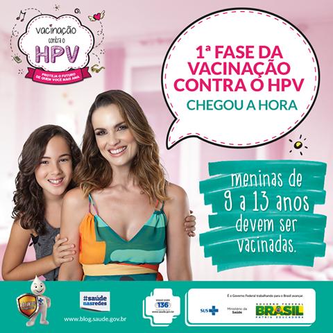 Campanha de vacinação contra o HPV em Iguape