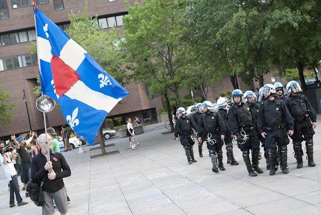 Manifestation contre le forum économique de Montréal, soirée du 12 juin 2012, Montréal [photos David Champagne]