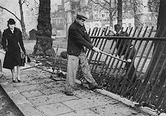 La historia secreta de las vallas de Londres