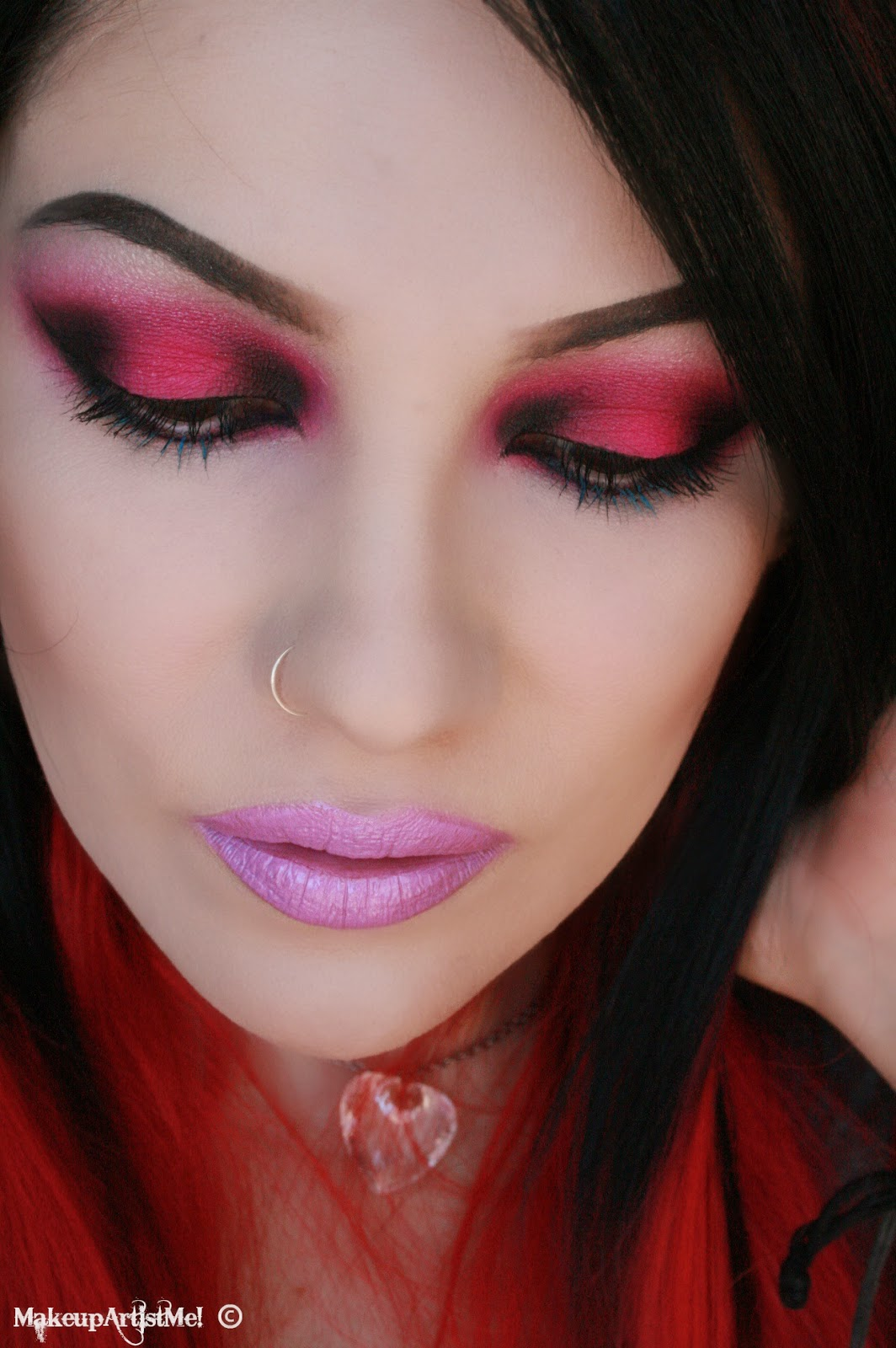 Make Up Fashion And 50 Shades Of Pink: Make-up Artist Me!: Rock Chick! Makeup Tutorial