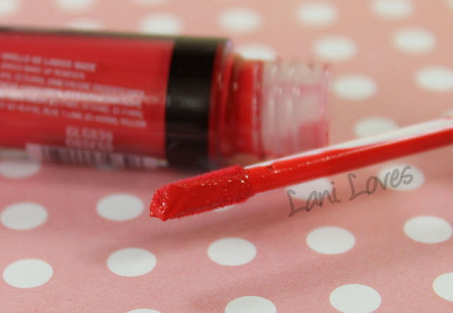 LA Girl Flat Matte Pigment Gloss - Obsess Swatches & Review