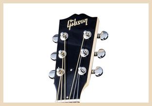 gambar bagian gitar  Headstock