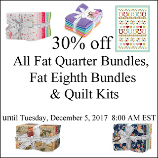 Fat Quarter Bundle, Fat Eighth Bundle, Quilt Kit Sale - Crazy Quilt Girl Fabric Shop