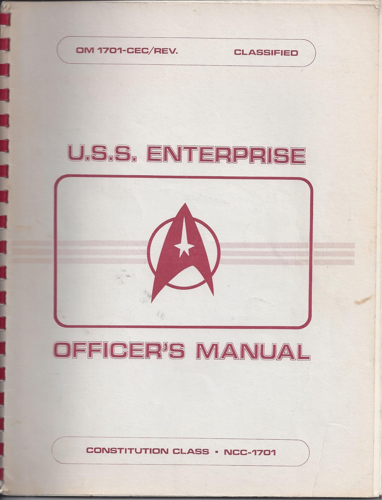 Bronze age babies star trek at 50buried treasures uss enterprise the 50th anniversary of treks debut and a buried treasure as we look at a piece of trek memorabilia i discovered in one of my many bins of books in fandeluxe Images