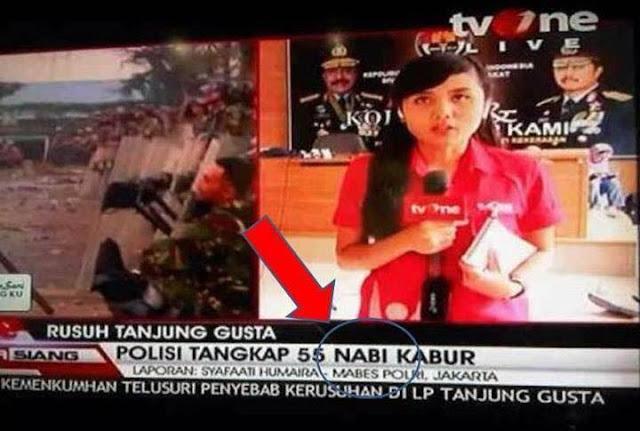 SANGAT FATAL : Beberapa Kesalahan Ketik Televisi, Saat Menyiarkan Berita Yang Konyol