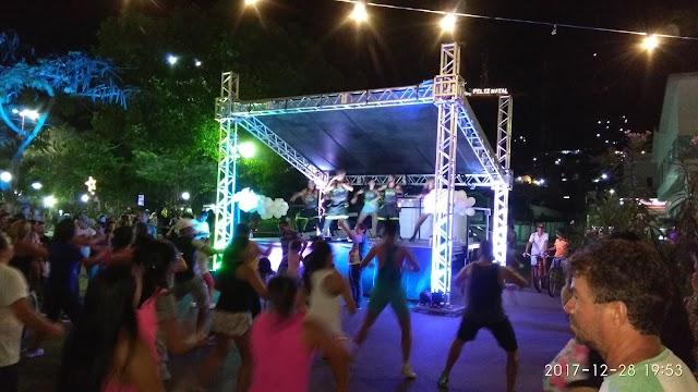 Aulão de Zumba foi sucesso em Limoeiro
