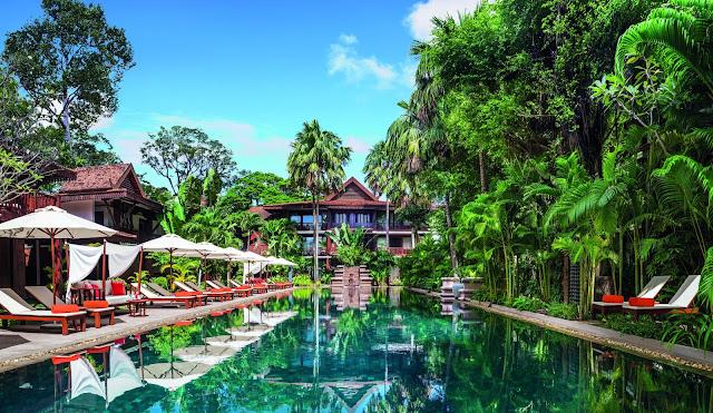 Belmond La Résidence d'Angkor. Photographie fournie