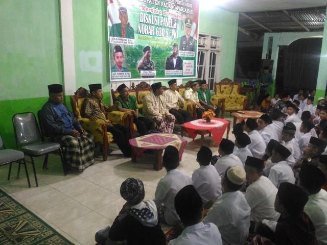 Ansor Padangpariaman Nobar G 30 S/PKI Bersama Santri Nurul Yaqin Ambung Kapur