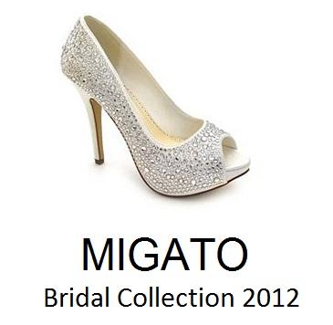 a64ec9dea20 Νυφικά Παπούτσια MIGATO 2012 | Μοντέρνα Σταχτοπούτα. . .